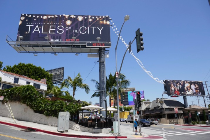 Tales of City Netflix lanterns billboards Sunset Strip
