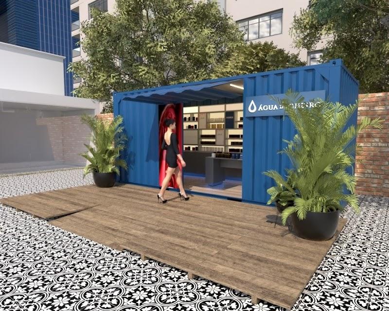 Água de Cheiro lança modelo de loja Container