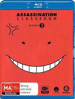 Assassination Classroom – Temporada 2 [4xBD25] *Subtitulada