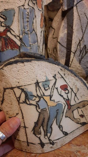 peça de artesanato em pedra