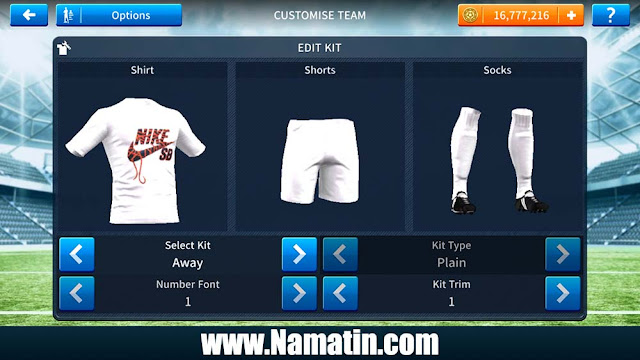 Baju Dream League Soccer Nike 2019
