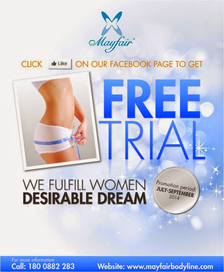 Mayfair Bodyline I Want Free Trial, Mayfair Bodyline, Slimming, Facial, Bodycare