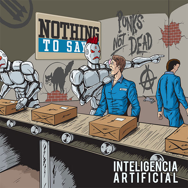 """Nothing To Say stream new EP """"Inteligencia Artificial"""""""