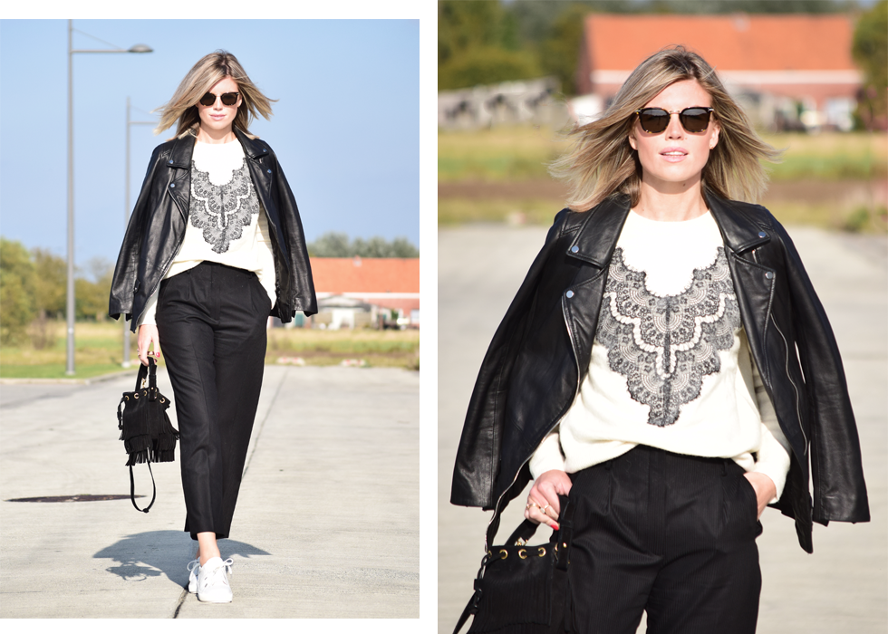 Outfit of the day, Céline, Dewolf, Sandro, Maje, Saint Laurent, Shabbies, outfit, look, blogger, style, fashion, trend