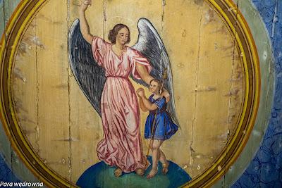 Michał Archanioł, malowidło na suficie