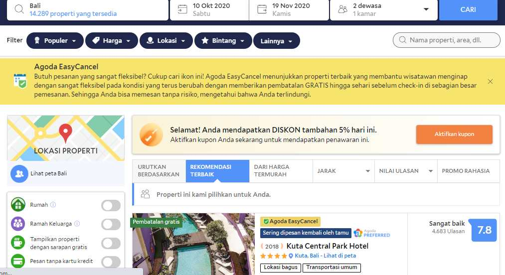 Vida View Apartment Makassar Sewa. booking tiket pesawat recommended