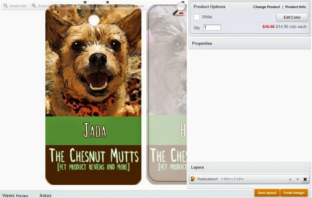 Jolly Awesome Pet Tag creator and designer