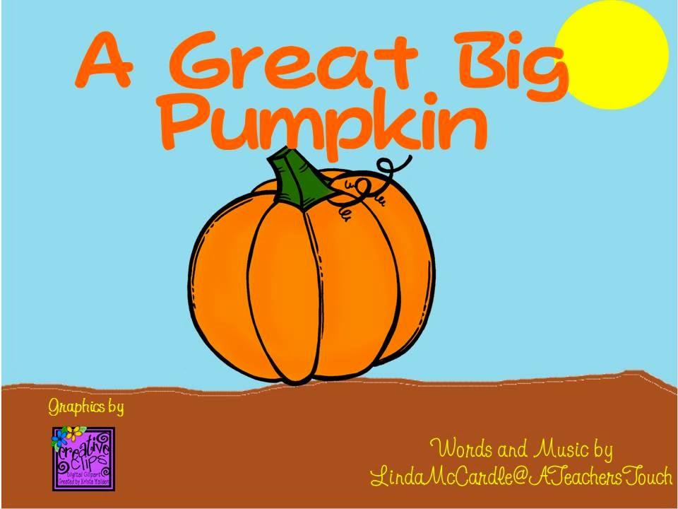 A Teacher\u0027s Touch A little Video about the Pumpkin Life Cycle
