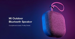 Mi Outdoor Bluetooth Speaker supports Bluetooth 5.0