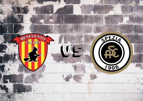 Benevento vs Spezia  Resumen