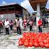Kapolres Situmorang Hadiri Penyerahan Sembako Untuk Mahasiswa di Tataaran Patar