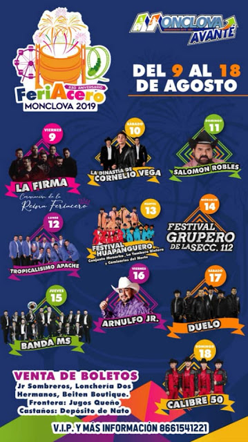feriacero monclova 2019