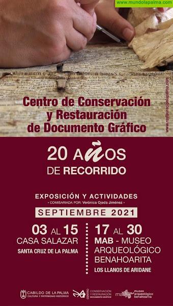El Cabildo conmemora el 20 aniversario del Centro de Conservación y Restauración de Documentos Gráficos