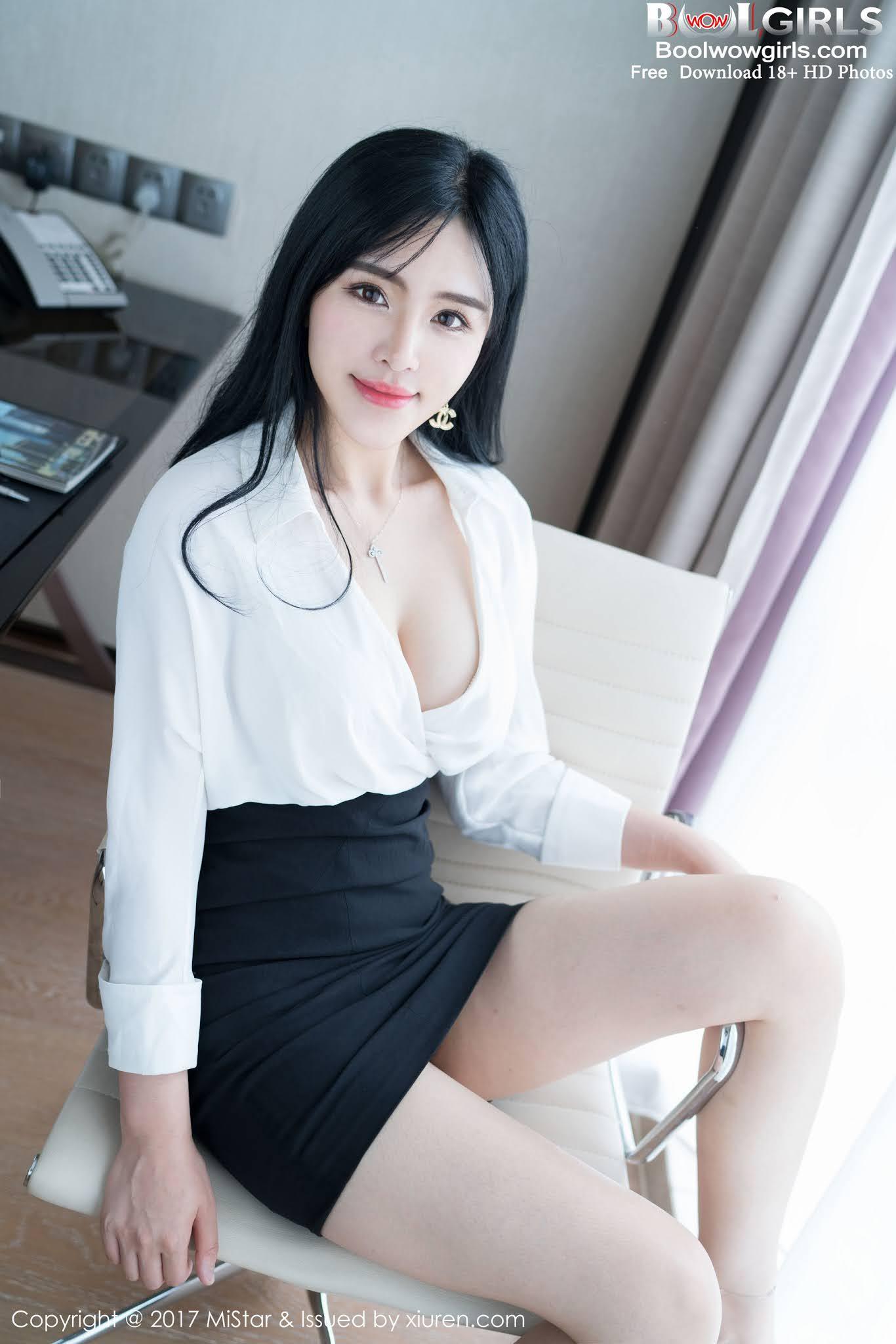 [MiStar] Vol.179 Liu Yu Er 刘钰儿 Touching Glamorous Model