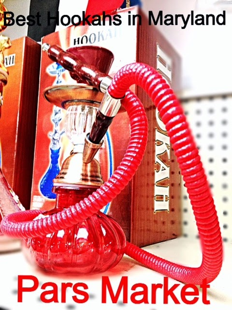 "Small 10"" height single hose Hookah at Pars Market Columbia, MD 21045"