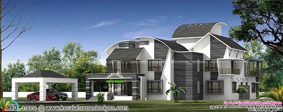 Ultra modern contemporary style luxury home