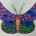 Recycled Cardboard Butterflies Inspired by David Gerstein