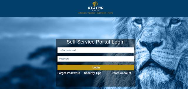 ICEA lion sel-service portal