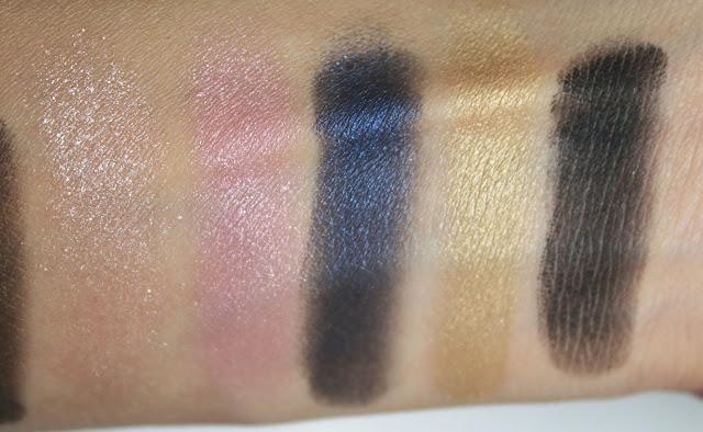 яркие шиммерные тени, вечерний макияж