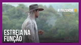 A Fazenda 12 – Mariano leva ovo na cabeça  – Peões se defendem no ao vivo – Luiza acusa Lipe de combinação