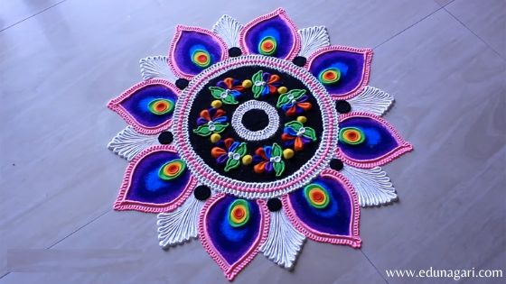 Diwali rangoli best