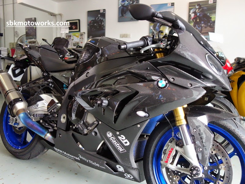 Sbk Motoworks Full Carbon Fiber Parts For Hp4 Bmw S1000rr