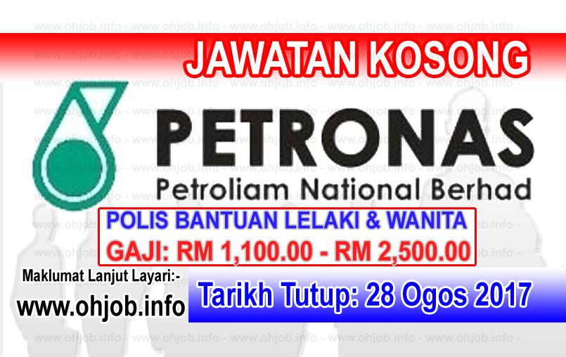Jawatan Kerja Kosong Petroliam Nasional Berhad - PETRONAS logo www.ohjob.info ogos 2017