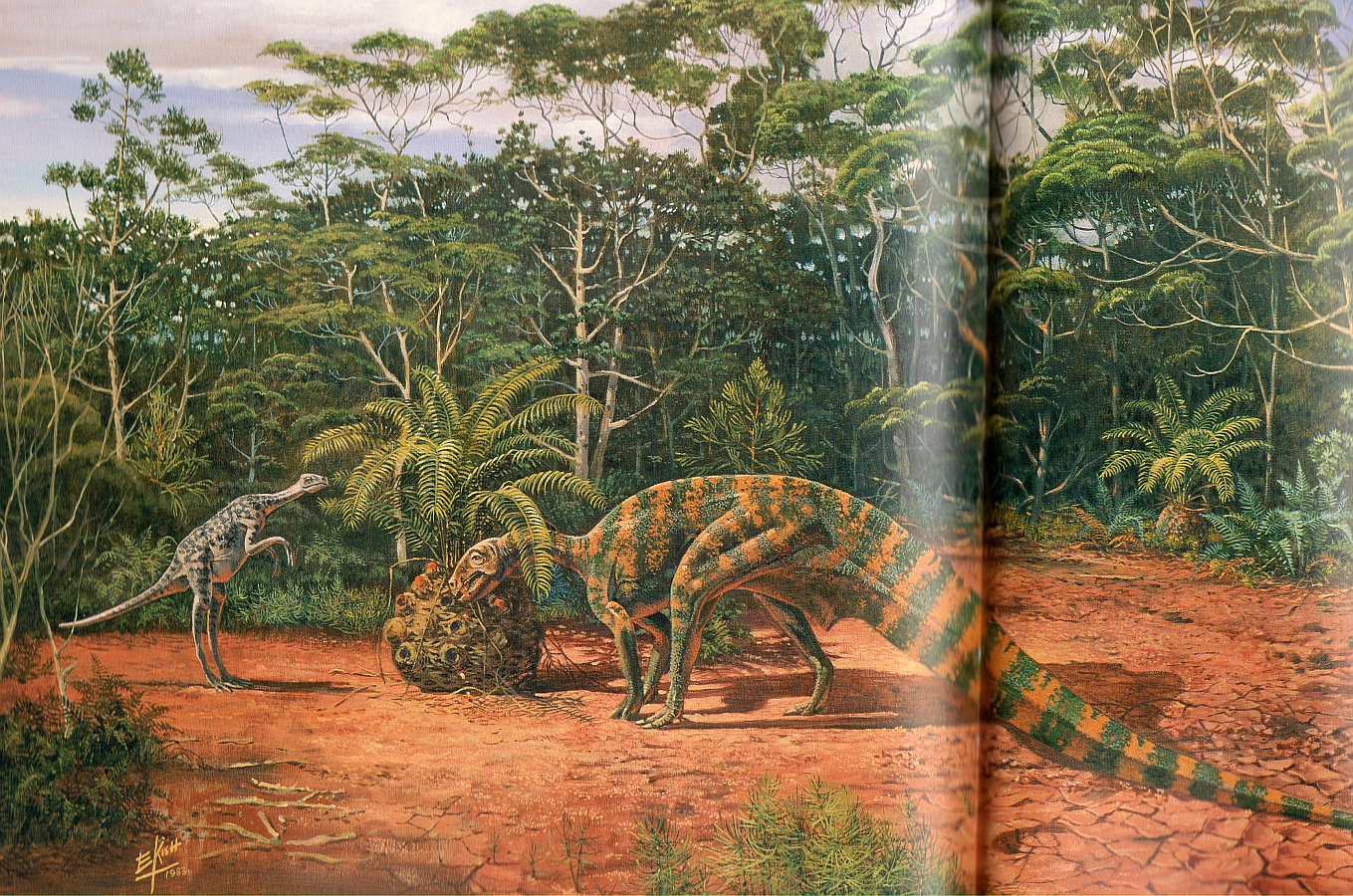 The Mokele Mbembe Is A Water Creature Said To Exist In The