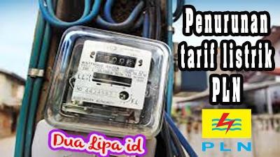 Penurunan tarif listrik PLN