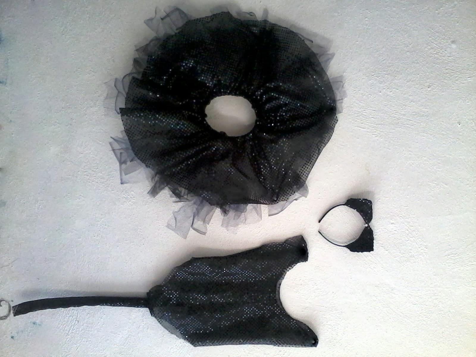 disfraz gatita negra