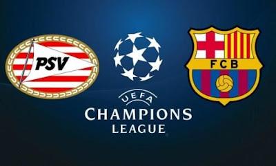 مباراة برشلونة وايندهوفن بتاريخ 28-11-2018 دوري أبطال أوروبا