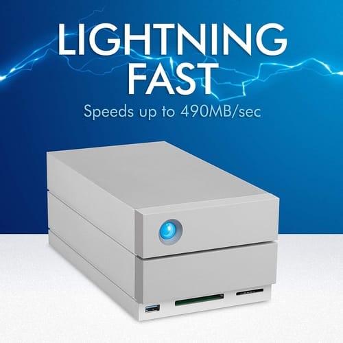 Review LaCie 2big Dock RAID 20TB External RAID Hard Drive