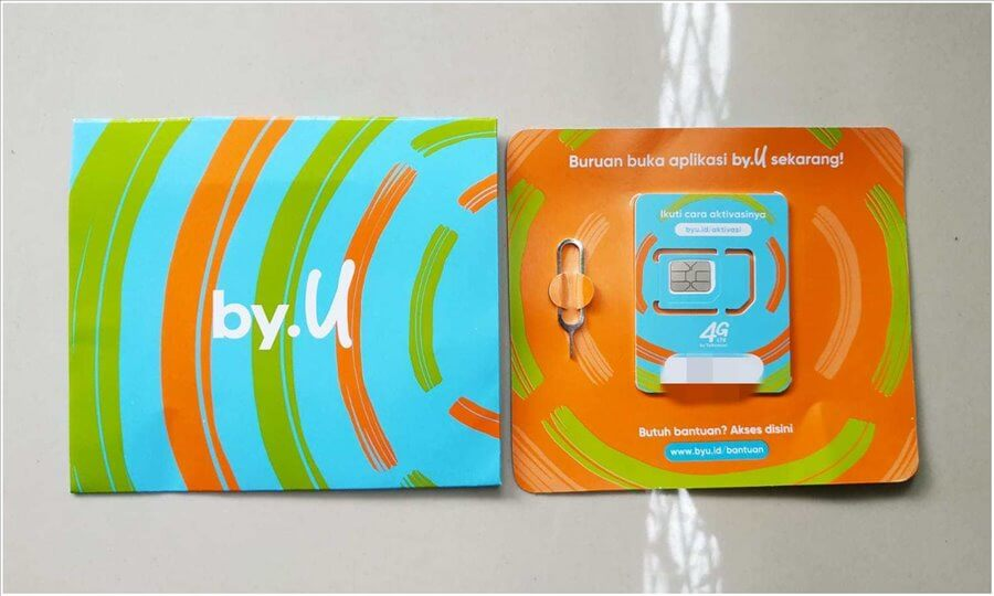 Simcard Telkomsel By.U