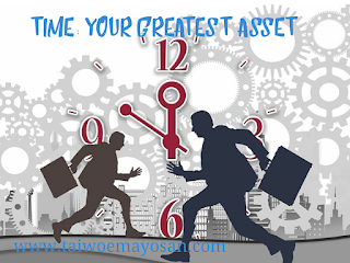 Time: Your greatest asset.