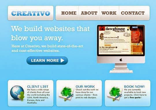 Coding a Clean Web 20 Style Web Design From Photoshop