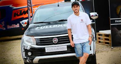 H Fiat Professional στηρίζει τον παγκόσμιο πρωταθλητή Tony Cairoli