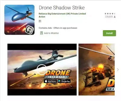game android offline drone shadow strike