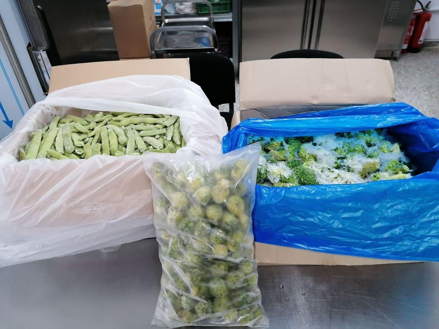 100 kg κατεψυγμένα τρόφιμα από την  «ΥΦΑΝΤΗΣ» στο Κοινωνικό Παντοπωλείο του Δήμου Πωγωνίου