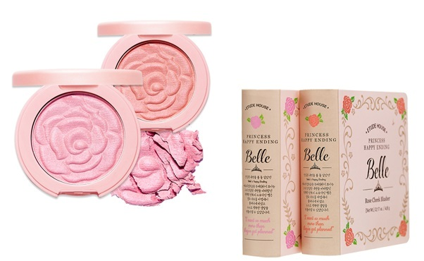 Etude House Belle Rose Cheek Blusher in Light Pink Rose and Light Coral Rose