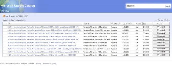 تحميل تحديث ويندوز 10 KB5001391 (20H2) الجديد وتعرف علي اهم المميزات