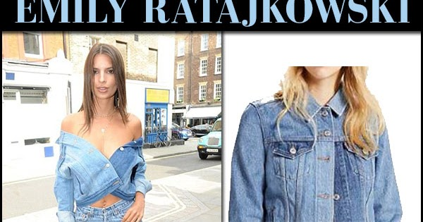 6448bda5f6 Emily Ratajkowski in denim jacket and jeans in London on June 30 ~ I want  her style - What celebrities wore and where to buy it. Celebrity Style