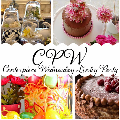 Wednesday Link up party,recipes, decorations, Centerpiece Wednesday linky party