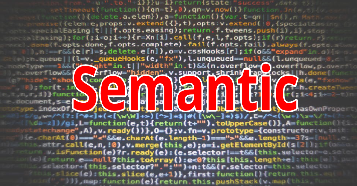 Semantic : Parsing, Analysing & Comparing Source Code Across Many Languages