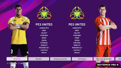 eFootball PES 2020 PS4 Option File PES United by EditemosPES