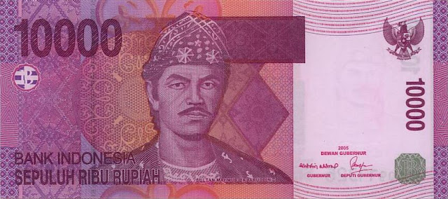 uang, sepuluh ribu, rupiah, terbaru