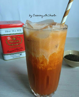 Ide Resep Membuat Thai Ice Tea (Es Teh Thai)