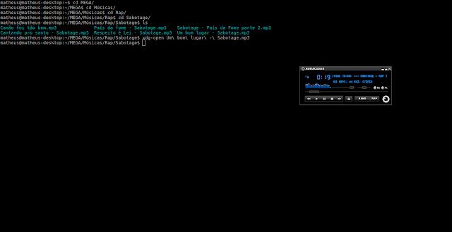 Como abrir arquivos pelo terminal - Ubuntu