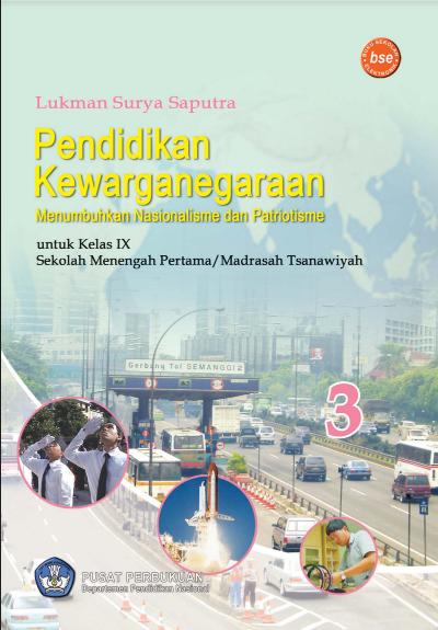 Download Buku Siswa KTSP SMP dan MTs Mata Pelajaran Pendidikan Kewarganegaraan 3