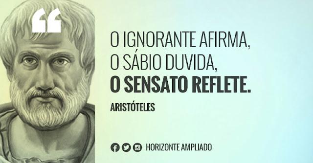 Pensamentos de Aristóteles