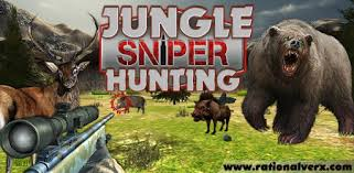 Jungle Sniper Hunting 3D - Game Sniper Online Android